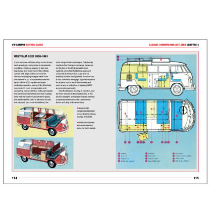 VW Camper Buyers' Guide pages 114 to 115