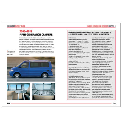 VW Camper Buyers' Guide pages 154 to 155