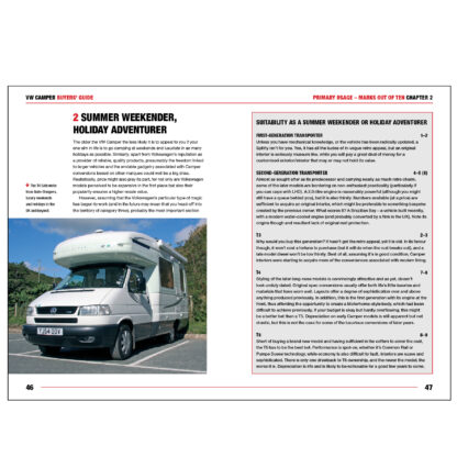 VW Camper Buyers' Guide pages 46 to 47