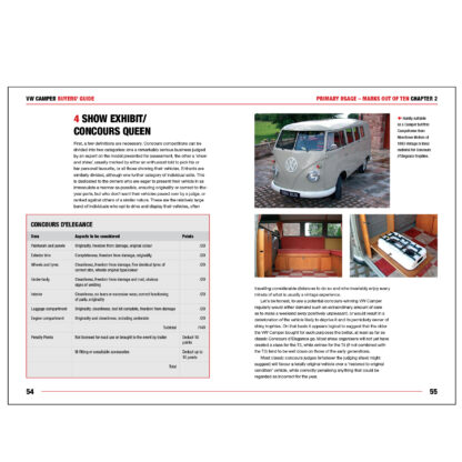 VW Camper Buyers' Guide pages 54 to 55