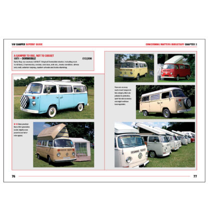 VW Camper Buyers' Guide pages 76 to 77