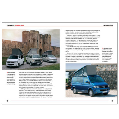 VW Camper Buyers' Guide pages 8 to 9